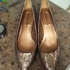 Size 8 1/2 reptilian inspired heels